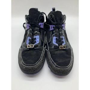 Y2K Baby Phat Chunky Black and Purple Sneakers